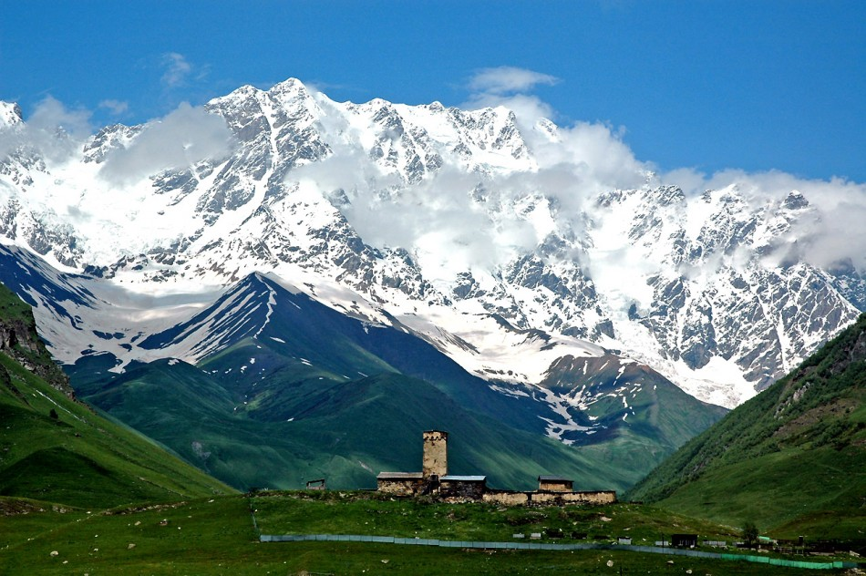 Europe's highest settlement in Georgia